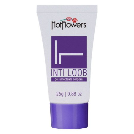 Lubrificante Int-Loob Bisnaga Lilás 25gr HotFlowers - Sexshop