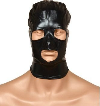 Máscara Bondage Erótica Sado - Sexshop