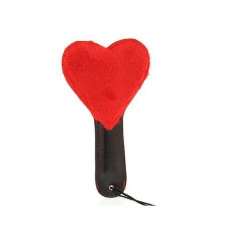 Palmatória Coração Fetiche Vermelho - Sexshop