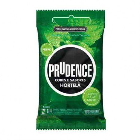 Preservativo Cores e Sabores Hortelã - Sex shop