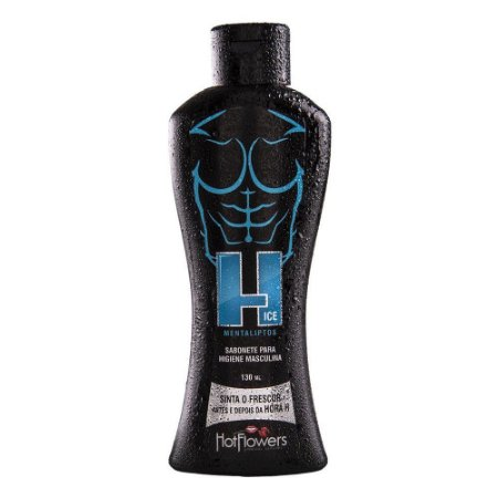 Sabonete íntimo H iCE Masculino 130ml HotFlowers - Sex shop
