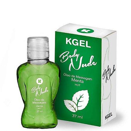 KIT 03 UND. Óleo de Massagem Body Nudes Kgel Hot Menta 37ml