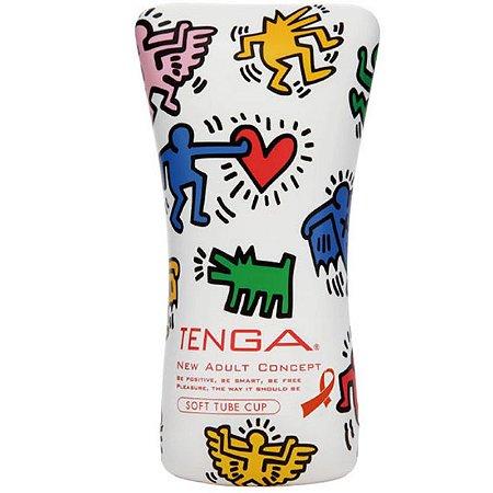 Tenga Masturbador - Keith Haring Cup Soft Tube - Sexshop