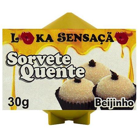 Vela Comestível Sorvete Quente Loka Sensação Beijinho - Sexshop
