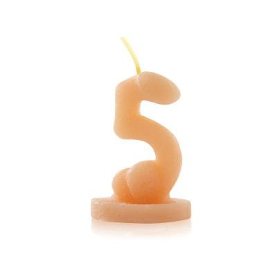 Vela Nº5 para brincadeiras no formato de Pênis - Sexshop