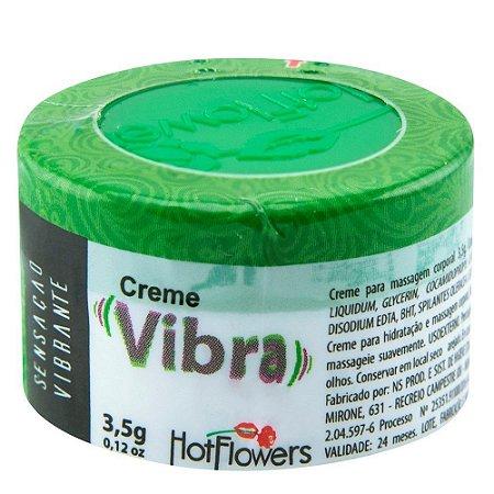Vibrador Creme Gel vibrador 3,5g Hot Flowers - Sex shop