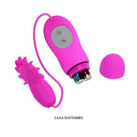 Vibrador e estimulador Clitoriano 12 vibrações PRETTYLOVE Boris - Sex Shop