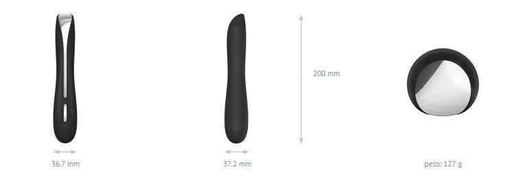 Vibrador F10 - Black - OVO LifeStyle - Sex shop