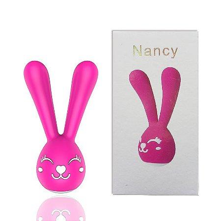 Vibrador Formato Coelho com 20 Modos de Vibração - Nancy - DIBE - Sexshop