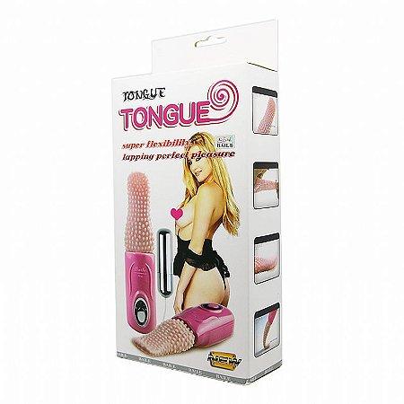 Vibrador Formato de Língua Tongue Massageador - Baile - Sexshop