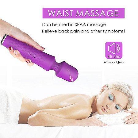 Vibrador Varinha Massageadora Recarregável - Luna - S-Hande - Sexshop