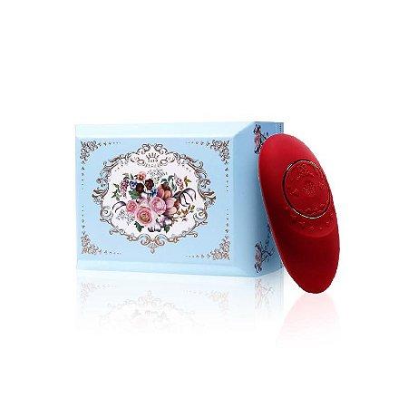 Vibrador ZALO - Versailles Jeanne Personal Massager Vermelha - Sexy shop