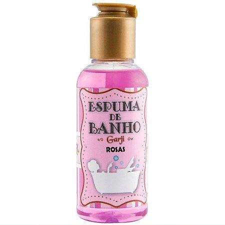 Espuma de Banho Aromática 120 ML Rosas - GARJI