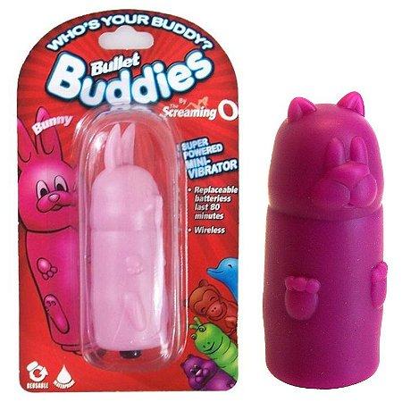 Estimulador Com Cápsula Vibratória Bullet Buddies Bear