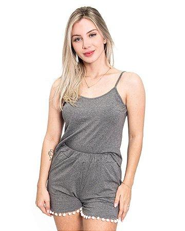 Pijama Soft Lexy in Grey
