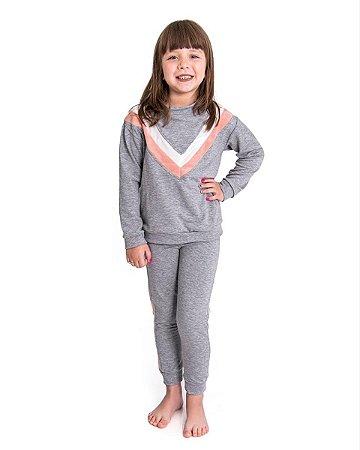 Conjunto Infantil Fitty Viezy Stripes Soft