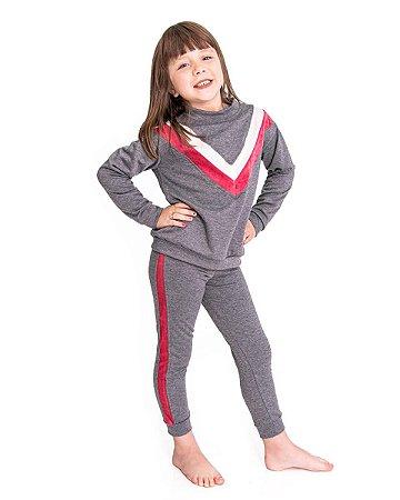 Conjunto Infantil Fitty Viezy Stripes Dark