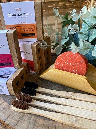 Escova de Dente em Bambu
