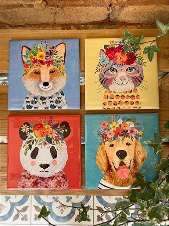 Azulejos Coleção Bichos Floral