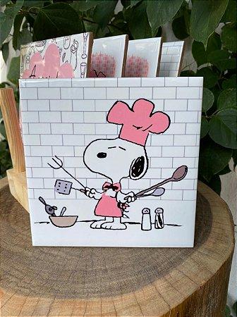 Azulejo Snoopy ¨Preparando¨15X15