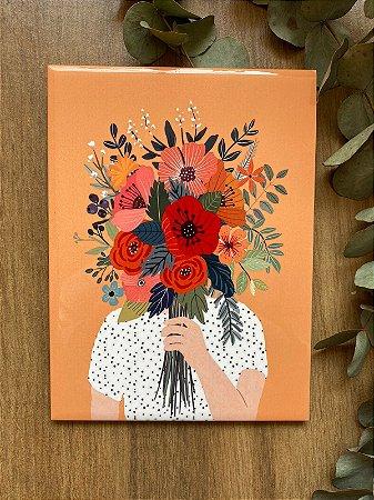 Azulejo Poá Flores