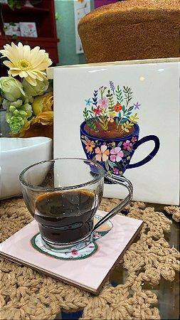Kit com 3 xícaras Café