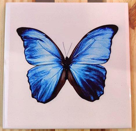 Azulejo 15 x 15 Borboleta azul