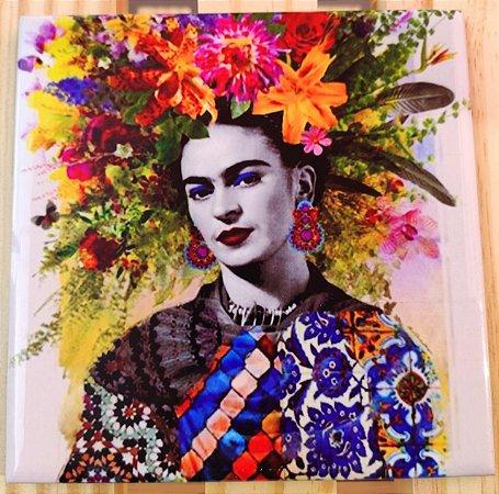 Azulejo 15 x 15 - Frida florida