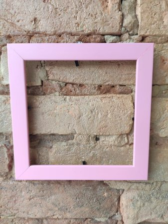 Moldura rosa ( Azulejo Criativo )