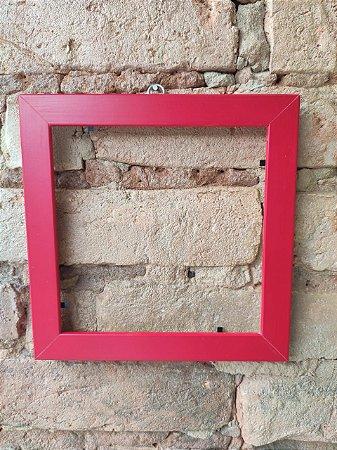 Moldura vermelha ( Azulejo Criativo )