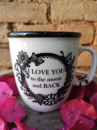 Caneca 350 ml - I love you to the moon and back