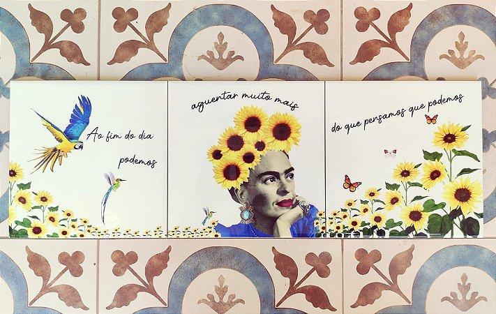 Azulejo Trio da Frida (arara)