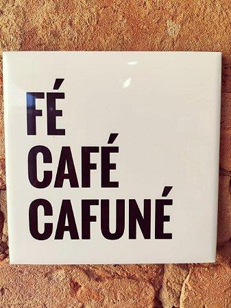 Azulejo 15 x 15 fé café cafuné