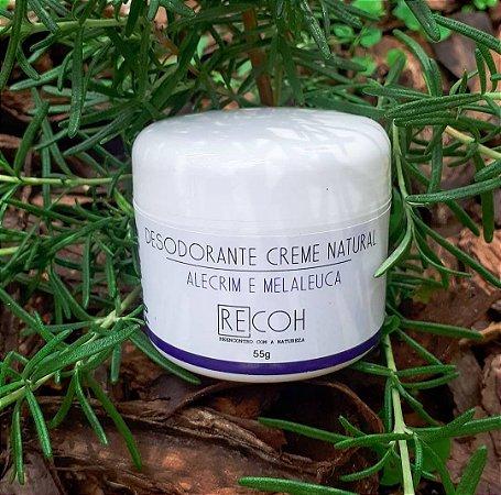 Desodorante creme natural ( Alecrim e Melaleuca )