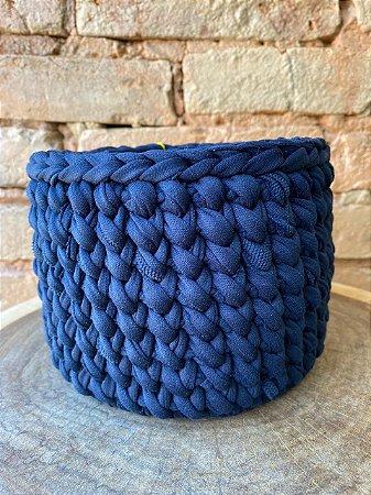 Cachepô 15 cm Azul Marinho