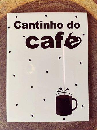 """Azulejo 15 x 20 - """"Cantinho do Café"""" I"""