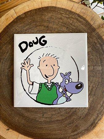Azulejo 15 x 15 - Doug Funny