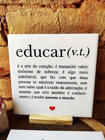 Azulejo 15 x 15 - Definição de Educar