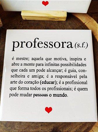 Azulejo 15 x 15 - Definição de professora
