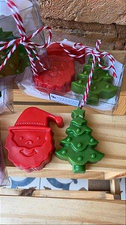 Kit sabonetes de Natal ( Noel/ árvore)