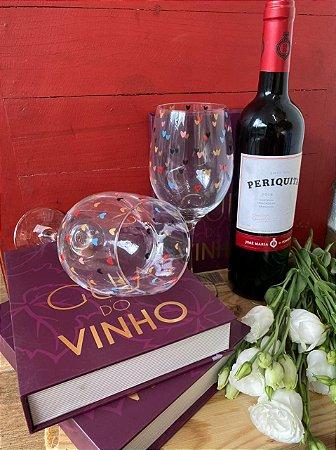Kit duas taças de Vinho Barone