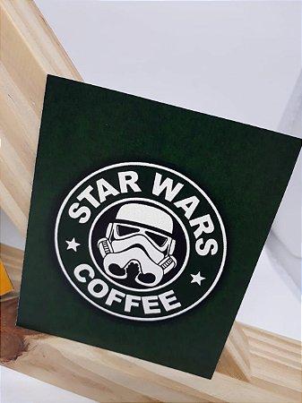 Imã de geladeira STAR WARS COFFEE