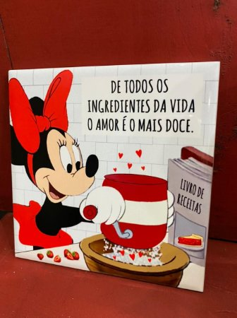 Azulejo Minnie DE TODOS OS INGREDIENTES DA VIDA ...