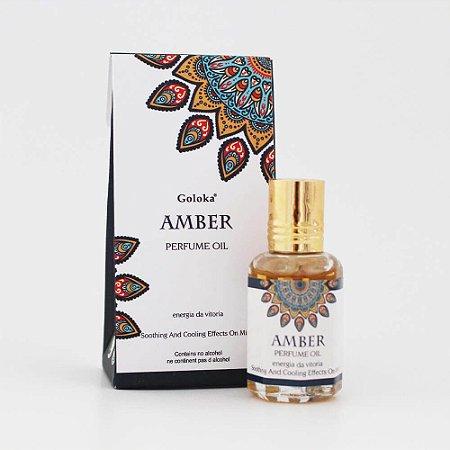 Perfume Indiano Âmbar - Goloka - 10ml