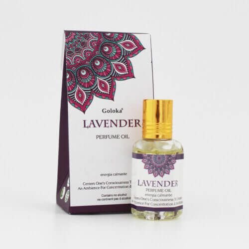 Perfume Indiano Lavanda - Goloka - 10ml