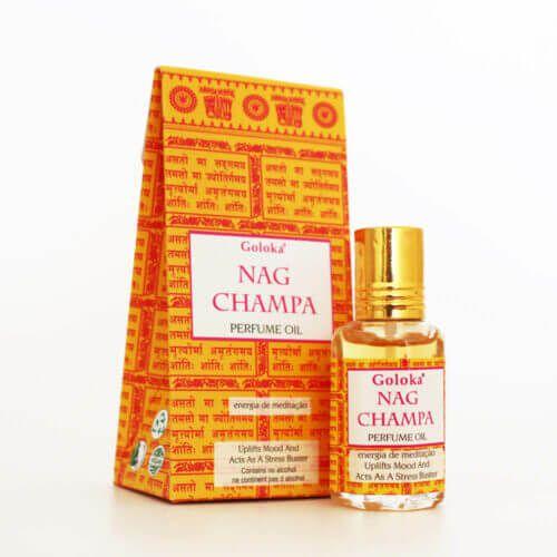 Perfume Indiano Nag Champa -  Goloka - 10ml