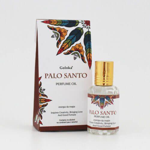 Perfume Indiano Palo Santo -  Goloka - 10ml