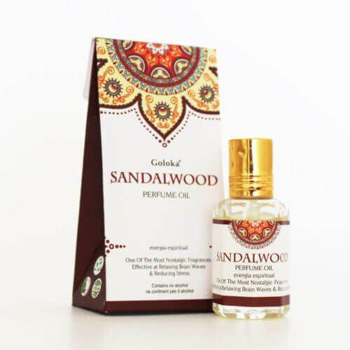 Perfume Indiano Sândalo - Goloka - 10ml