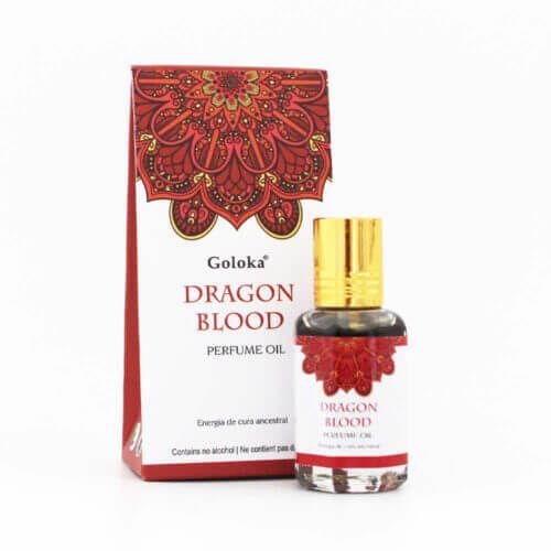 Perfume Indiano Dragon Blood -  Goloka - 10ml
