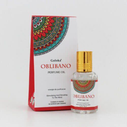 Perfume Indiano Olíbano -  Goloka - 10ml